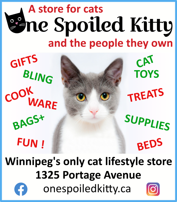 One Spoiled Kitty ad for December